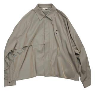 Jieda - 【Jieda】trench shirt (20ss)【size1】
