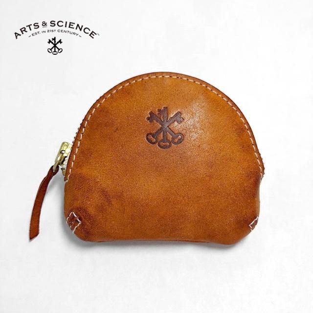 YAECA(ヤエカ)のアーツ&サイエンス✨ARTS & SCIENCE コインパース 小物入 鍵焼印 レディースのファッション小物(コインケース)の商品写真