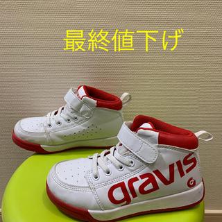 グラビス(gravis)の子ども gravis ハイカット スニーカー ダンス 19cm(スニーカー)