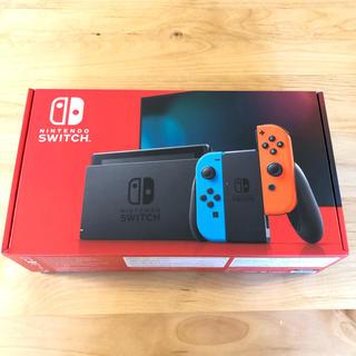 ニンテンドースイッチ(Nintendo Switch)のNintendo Switch Joy-Con (L) ネオンブルー / (R)(家庭用ゲーム機本体)