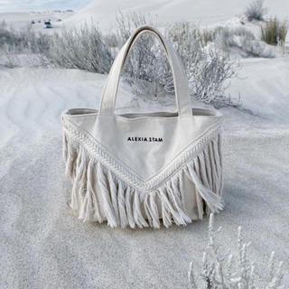 ALEXIA STAM - alexiastam V Long Fringe Small Tote Bag