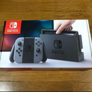 ニンテンドースイッチ(Nintendo Switch)のニンテンドー switch グレー(家庭用ゲーム機本体)
