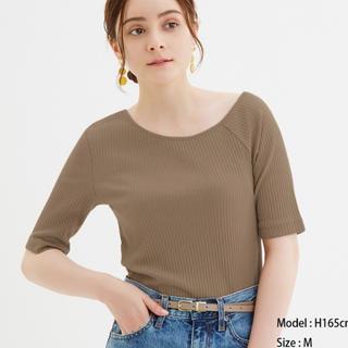 ジーユー(GU)のGU カットソー(Tシャツ(半袖/袖なし))