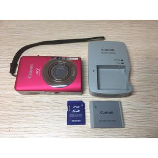 キヤノン(Canon)のキヤノン Canon IXY 110IS デジカメ SDカード付(コンパクトデジタルカメラ)