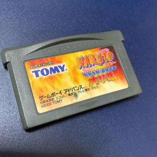 ゲームボーイアドバンス(ゲームボーイアドバンス)のGBA NARUTO(携帯用ゲームソフト)