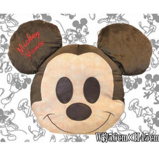 ディズニー(Disney)のディズニー焼きたてパンクッション ミッキー(クッション)