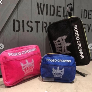 ロデオクラウンズ(RODEO CROWNS)のRODEOCROWNSノベルティーポーチ 3点セット(ポーチ)