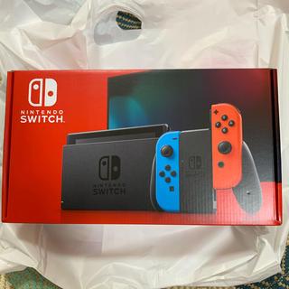 ニンテンドースイッチ(Nintendo Switch)の【新品未使用】Switch(家庭用ゲーム機本体)