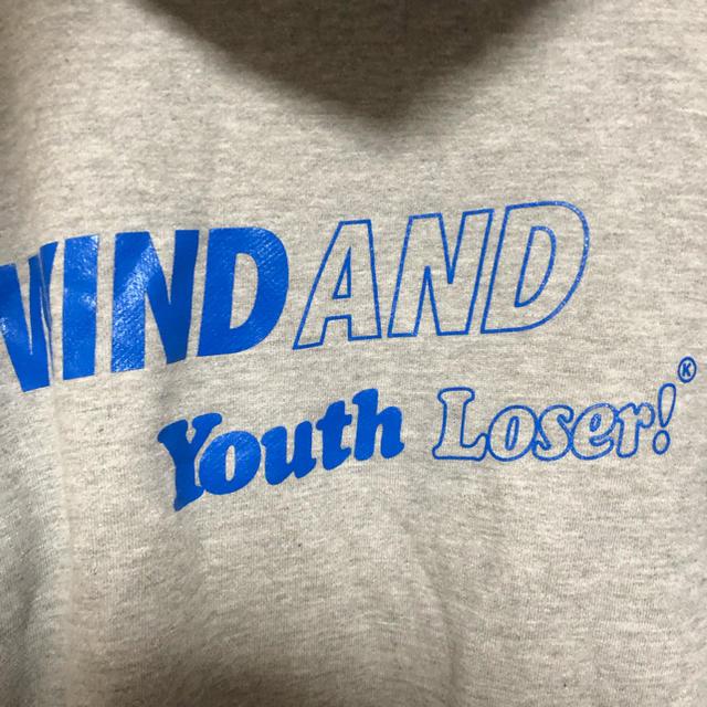 Supreme(シュプリーム)のwind and sea × youth loser パーカー グレー メンズのトップス(パーカー)の商品写真