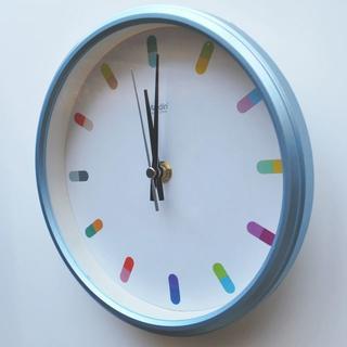 ★新品 超静音 掛時計9 クウォーツ 8インチ(20cm) 女性 学生(掛時計/柱時計)