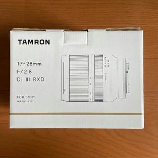 ソニー(SONY)の【新品】タムロン 17-28mm F/2.8 Di III RXD A046(レンズ(ズーム))