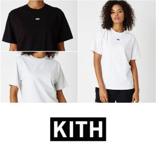 シュプリーム(Supreme)の新品タグ付 kith ボックスロゴ Tシャツ(Tシャツ(半袖/袖なし))