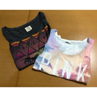 ヴィクトリアズシークレット(Victoria's Secret)のアメカジ Tシャツ タンクトップ セット(タンクトップ)