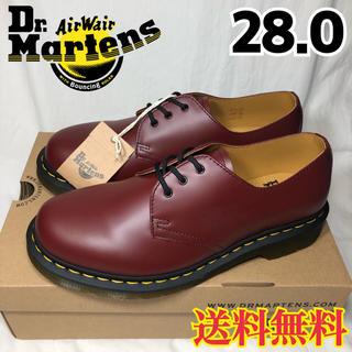 ドクターマーチン(Dr.Martens)の【新品】ドクターマーチン 3ホール ギブソン チェリーレッド 28.0(ドレス/ビジネス)