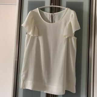 ESTNATION - エストネーション estnation 白 シャツ カットソー