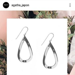アガタ(AGATHA)のラクマ限定出品✩.*˚アガタ定番デューピアス 定価14080円(ピアス)