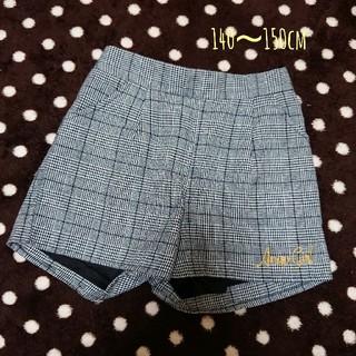 アナップ(ANAP)のANAP GIRL グレンチェック ショーパン 140~150cm(スカート)