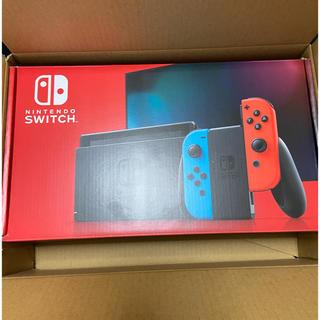 ニンテンドースイッチ(Nintendo Switch)のNintendo Switch 新型ネオンカラー(家庭用ゲーム機本体)