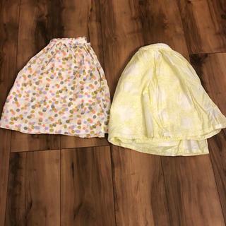 女の子スカート2枚セット♡(スカート)
