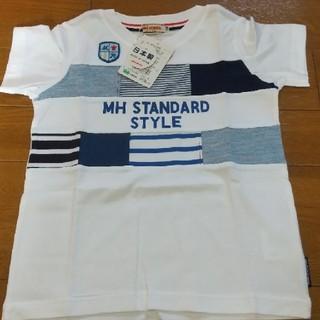 mikihouse - ミキハウス100サイズパッチワークTシャツ