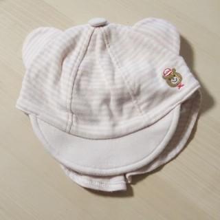 ニシマツヤ(西松屋)のくまさん帽子☆ニット帽セット(帽子)