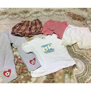 ニットプランナー(KP)の女の子・KP洋服屋まとめ売り 90、95(パンツ/スパッツ)