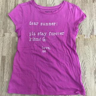 ギャップキッズ(GAP Kids)のギャップ キッズ パープル Tシャツ 130(Tシャツ/カットソー)
