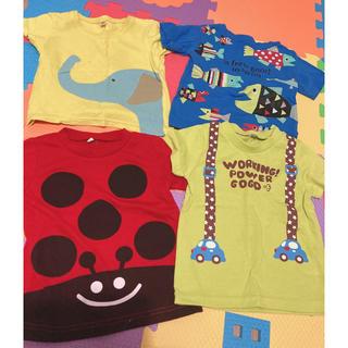 ニシマツヤ(西松屋)の西松屋チェーン  Tシャツ④点セット 90(Tシャツ/カットソー)