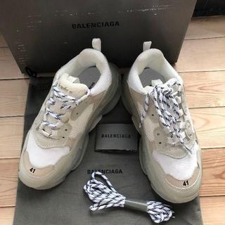 Balenciaga - 41サイズ BALENCIAGA triple sクリアソール ホワイト