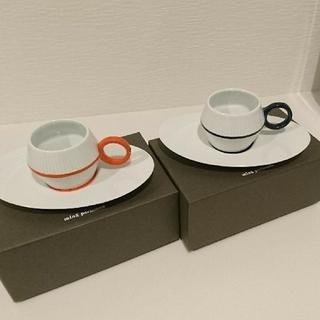 mina perhonen - ミナペルホネン カップ&ソーサー セット 箱付き