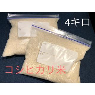 コシヒカリ米 4キロ (米/穀物)