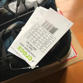 クロックス(crocs)のクロックススニーカー27センチ新品未使用(スニーカー)