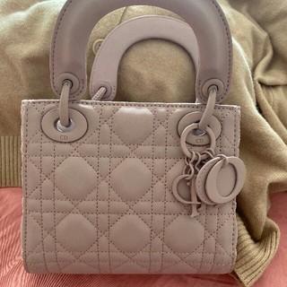 Christian Dior - 極美品  Dior レディディオール ハンドバッグ カナージュ