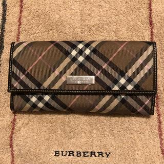 BURBERRY BLUE LABEL - Burberry ブルーレーベル 長財布【新品・未使用】