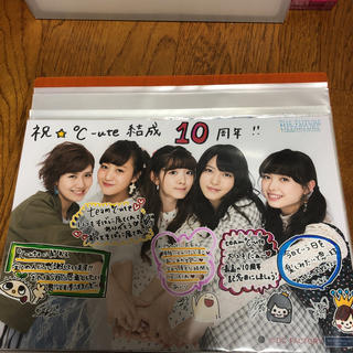 キュート(℃-ute)のA4ワイド写真  °C-ute集合  (アイドルグッズ)