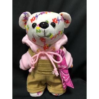 キスマイフットツー(Kis-My-Ft2)のキスマイベア衣装 キスどき風パーカー&サロペット ピンク(アイドルグッズ)