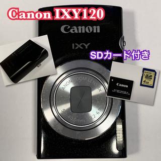 Canon - デジカメ キャノンIXY120 SDカード付き