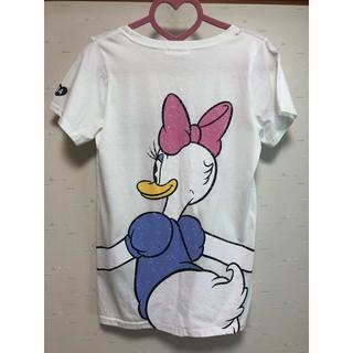 ディズニー(Disney)のデイジー バックハグ Tシャツ(Tシャツ(長袖/七分))