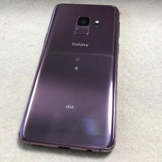 ANDROID - 【SIMフリー/超美品】Galaxy S9 64GB SCV38★パープル
