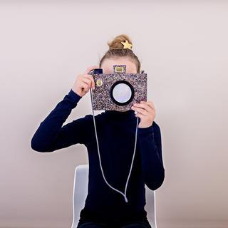 ボンポワン(Bonpoint)の♡ MIMI&LULA♡グリッター カメラ ポシェット(ポシェット)