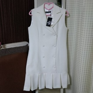 MARY QUANT - 中古 ワンピース 白