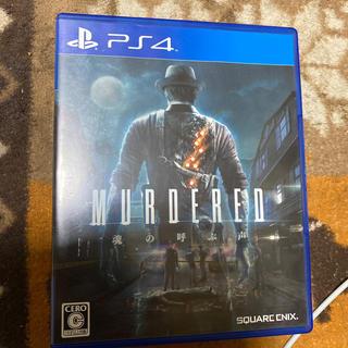 プレイステーション4(PlayStation4)のMURDERED(マーダード) 魂の呼ぶ声 PS4(家庭用ゲームソフト)