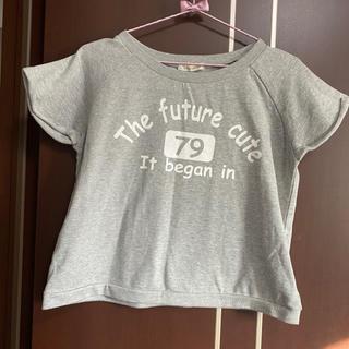 チュチュアンナ(tutuanna)の♥︎ tutuanna グレー トップス Tシャツ ♥︎(Tシャツ/カットソー(半袖/袖なし))