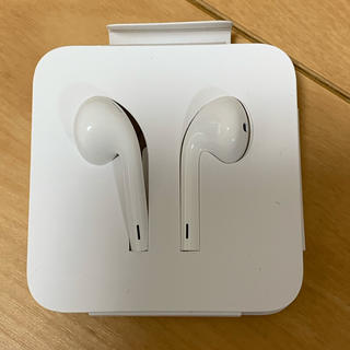 iPhone - iPhone付属品イヤホン 純正品 未使用品