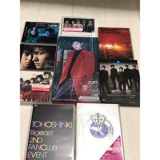 トウホウシンキ(東方神起)の⭐︎美品⭐︎東方神起 初回限定版DVD CD 9点セット(K-POP/アジア)