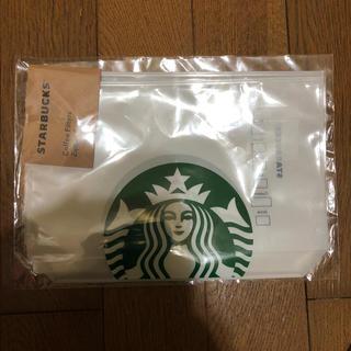 スターバックスコーヒー(Starbucks Coffee)の[未開封]スターバックス★コーヒーフィルタージッパーバック(日用品/生活雑貨)