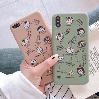 SNOOPY - iPhone7 iPhone8 スヌーピー iPhoneケース snoopy