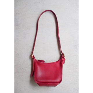 COACH - 【COACH】Red leather sacoche