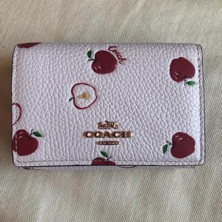 COACH - COACH アップルプリント 財布