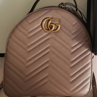 Gucci - GUCCI グッチ バックパック リュック GGマーモント